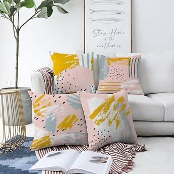 Zestaw 4 poszewek na poduszki Minimalist Cushion Covers Ive, 55x55 cm