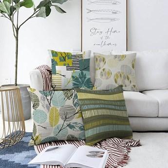 Zestaw 4 poszewek na poduszki Minimalist Cushion Covers Amoro, 55x55 cm