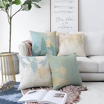 Zestaw 4 poszewek na poduszki Minimalist Cushion Covers Sparkle, 55x55 cm