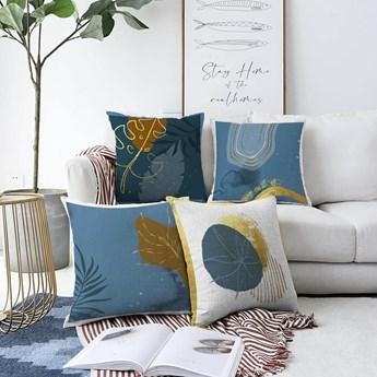 Zestaw 4 poszewek na poduszki Minimalist Cushion Covers Magical Night, 55x55 cm