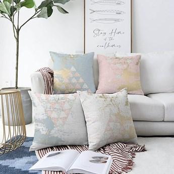 Zestaw 4 poszewek na poduszki Minimalist Cushion Covers Spring Vibes, 55x55 cm