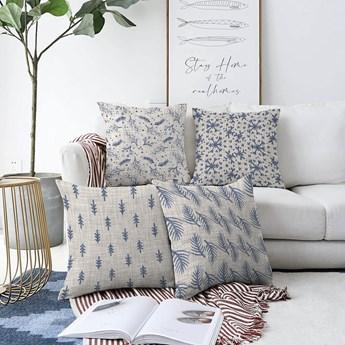 Zestaw 4 poszewek na poduszki Minimalist Cushion Covers Mona, 55x55 cm