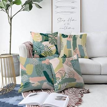 Zestaw 4 poszewek na poduszki Minimalist Cushion Covers Cove, 55x55 cm
