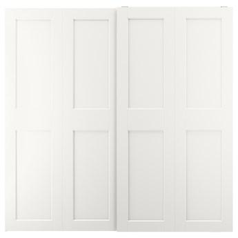 IKEA GRIMO Drzwi przesuwne, biały, 200x201 cm