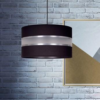 LARO 1 BLACK lampa wisząca duży abażur regulowana wysokość różne kolory