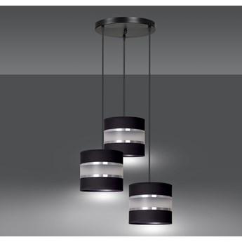 LARO 3 BLACK PREMIUM lampa wisząca abażury regulowana nowoczesna