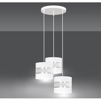 LARO 3 WHITE PREMIUM lampa wisząca abażury regulowana nowoczesna