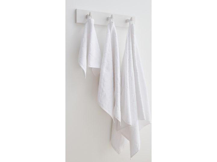 Sinsay - Bawełniany ręcznik 50x100 - Biały Bawełna 50x100 cm Kategoria Ręczniki