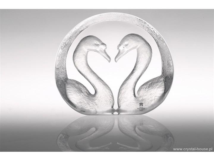 Kryształowa rzeźba Łabędzie