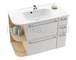 Szafka pod umywalkę biała/Strip Onyx SDZU Ravak Praktik S-P X000000323
