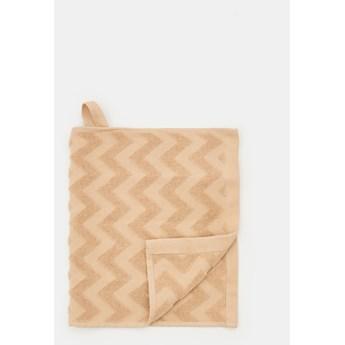 Sinsay - Ręcznik bawełniany - Beżowy