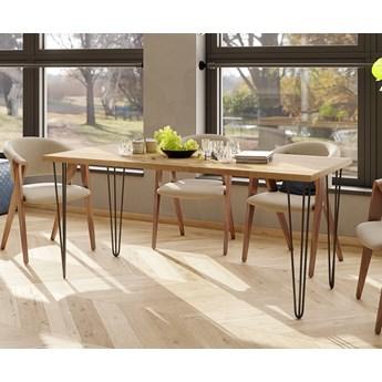 Rozkładany stół obiadowy w stylu loftowym 031