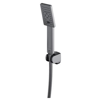 JimJim zestaw prysznicowy ścienny nikiel JIMJIM-PIN