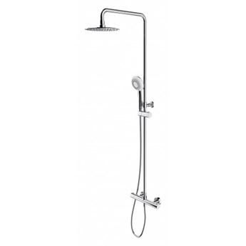 Zestaw prysznicowy Y termostatyczny z deszczownicą chrom Y1244X/6CR
