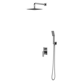 Parma zestaw prysznicowy podtynkowy nikiel SYSPM21IN