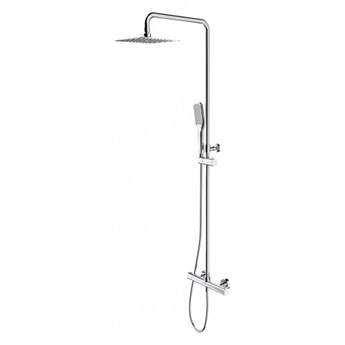 Zestaw prysznicowy Y termostatyczny z deszczownicą i kompletem natryskowym chrom Y1244X/6/KCR