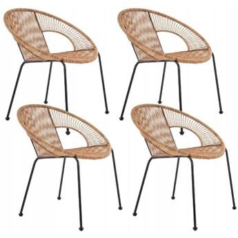Zestaw 4x Krzesło BARI Rattan Halmar