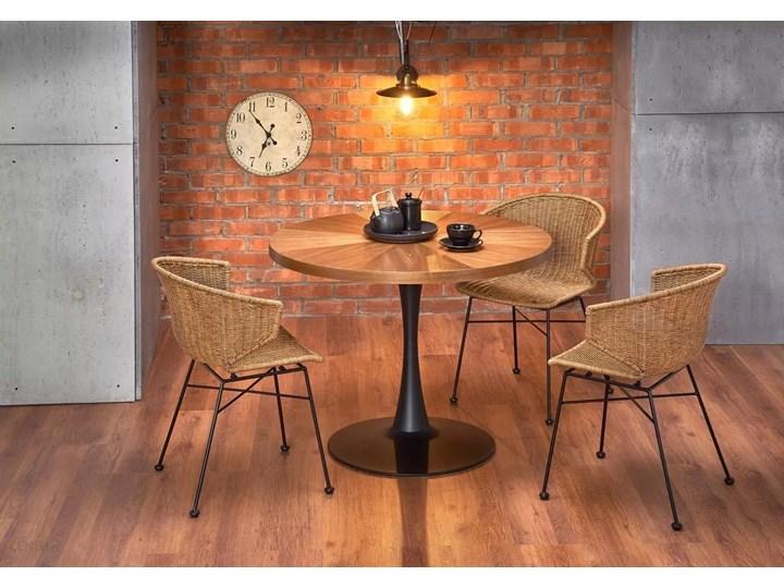 Zestaw 4x Krzesło K407 Rattan Halmar Wysokość 87 cm Krzesło inspirowane Stal Głębokość 51 cm Metal Szerokość 44 cm Tworzywo sztuczne Pomieszczenie Salon Szerokość 56 cm Styl Klasyczny
