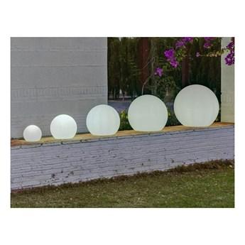 NEW GARDEN lampa ogrodowa BULY 50 biała - LED kod: LUMBL050OFNW