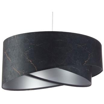 Czarno-srebrna lampa wisząca glamour - EXX15-Magela