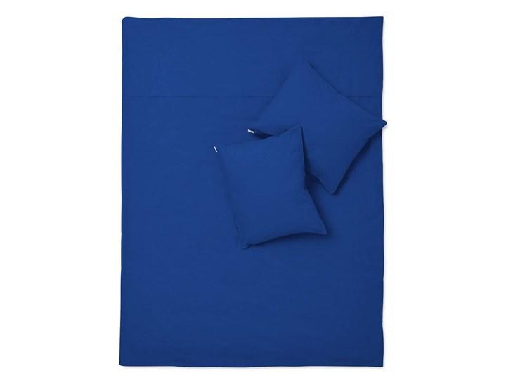 Pościel kobaltowa bawełna basic