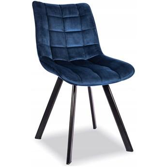 Zestaw 4x Krzesło K332 Granat Velvet Halmar