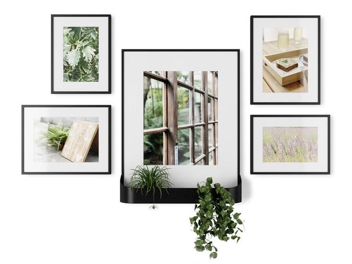 Galeria - zestaw ściennych ramek na zdjęcia x5 Umbra Matinee Black