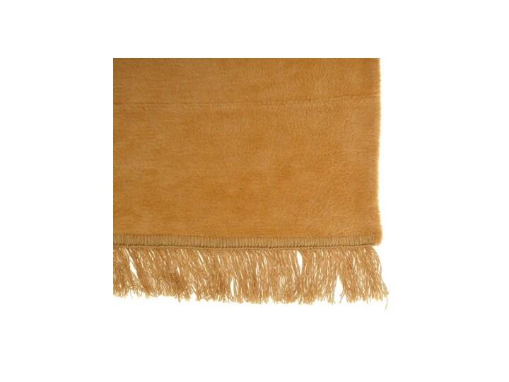 Koc pled DUKA FLUFFIG 200x150 cm musztardowy bawełna 150x200 cm Kategoria Koce i pledy