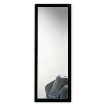 Lustro ścienne w czarnej ramie Oyo Concept, 40x105 cm