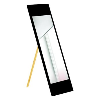 Lustro stojące w czarnej ramie Oyo Concept, 35x140 cm