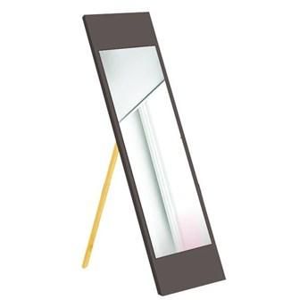 Lustro stojące w brązowej ramie Oyo Concept, 35x140 cm