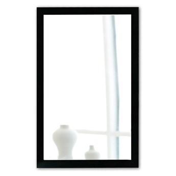 Lustro ścienne w czarnej ramie Oyo Concept, 40x55 cm