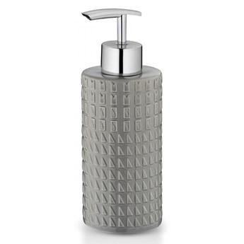 porcelanowy dozownik do mydła, 0,3 l, śred. 6,5 x 19 cm, szary kod: KE-24220
