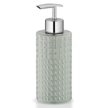 porcelanowy dozownik do mydła, 0,3 l, śred. 6,5 x 19 cm, miętowy kod: KE-24225