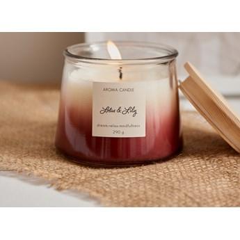 Sinsay - Świeca zapachowa Lotus&Lily 290 g - Fioletowy