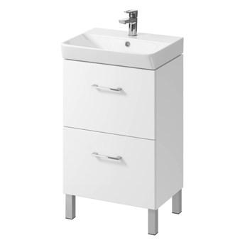Szafka pod umywalkę Cersanit Olivia Mille 50 cm biała