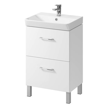 Szafka pod umywalkę Cersanit Olivia Mille 60 cm biała