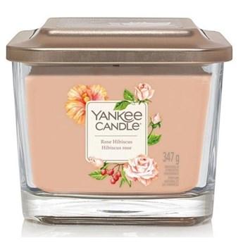 Świeczka duża Yankee Candle Elevation Collection Rose Hibiscus Słoik średni 347g