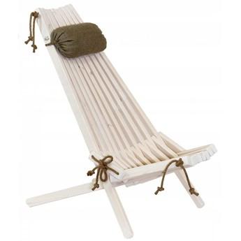 Fotel EcoChair Ecofurn Sosna Biały