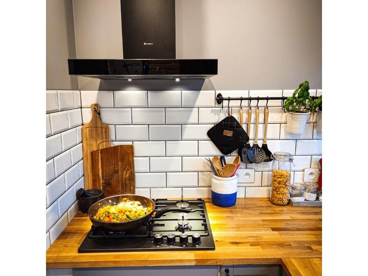 Okap kuchenny VERTA 60.1 BLACK Poziom hałasu 63 dB Szerokość 60 cm Okap przyścienny Poziom hałasu 56 dB