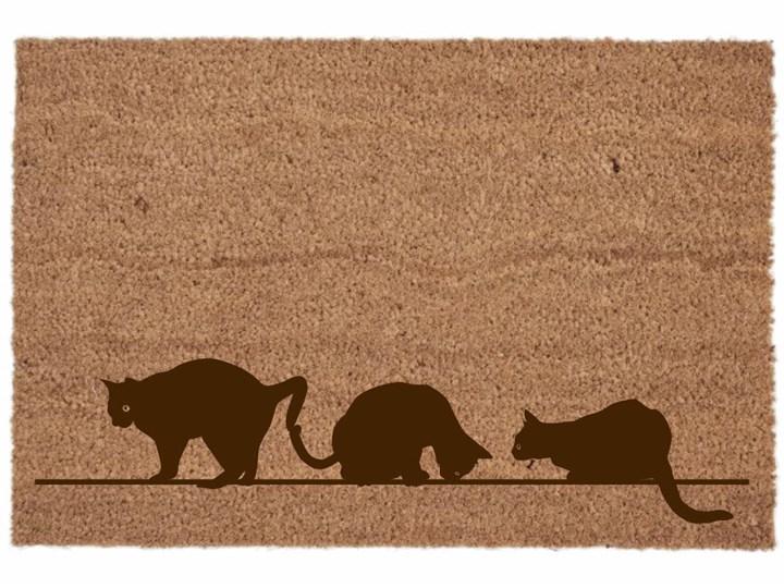 Wycieraczka koty Włókno kokosowe Kategoria Wycieraczki