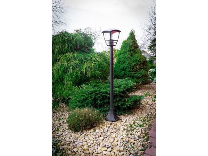 Słupek ogrodowy latarnia IMMA BLACK L/T E27 czarny IP44 EDO777384 EDO Garden Line Kategoria Lampy ogrodowe