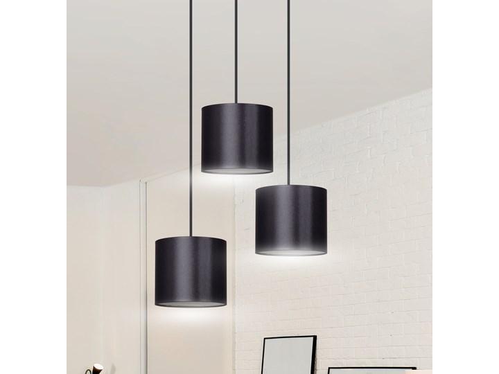 BERYL 3 PREMIUM BL BLACK lampa wisząca abażury różne kolory Kategoria Lampy wiszące Metal Lampa z abażurem Styl Nowoczesny