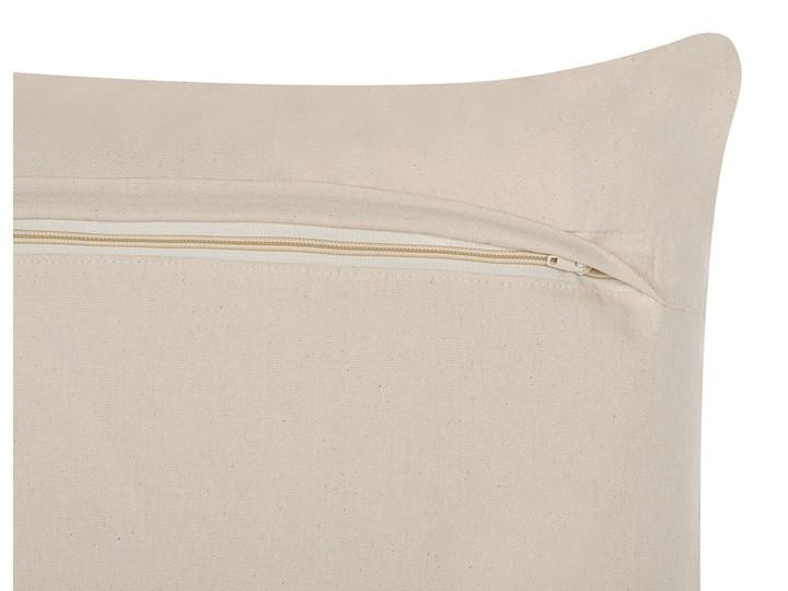 Zestaw 2 poduszek dekoracyjnych brązowy orientalny 45 x 45 cm vintage z wypełnieniem ozdobny akcesoria salon sypialnia Kwadratowe Poszewka dekoracyjna 45x45 cm Kategoria Poduszki i poszewki dekoracyjne