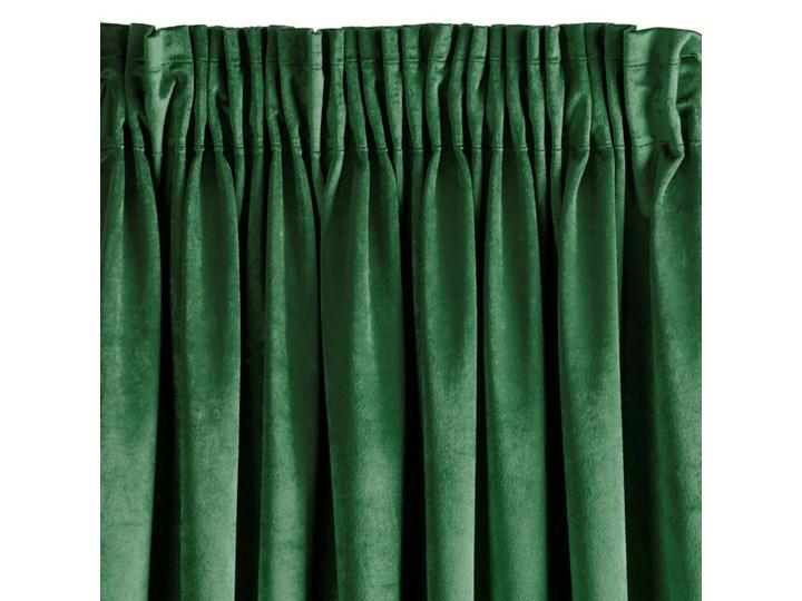 Zasłona Sarah 140x270cm - Zielony - Taśma Mocowanie Tunel 140x270 cm Poliester Bawełna Pomieszczenie Sypialnia