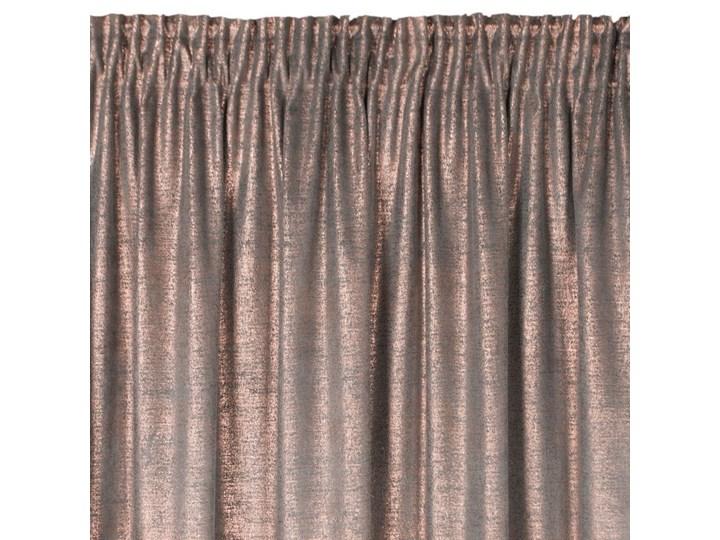 Zasłona Welwetowa Ambi 140x270cm - Grafitowy - Taśma Poliester 140x270 cm Typ Zasłony gotowe
