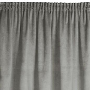 Gotowa Zasłona Fargo 140x180cm - Srebrny - Taśma