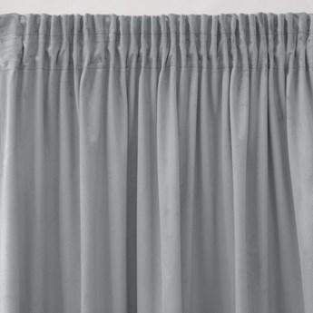 Pierre Cardin zasłona welwetowa 140x270cm - Srebrny - Taśma