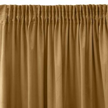 Pierre Cardin zasłona welwetowa 140x270cm - Miodowy - Taśma