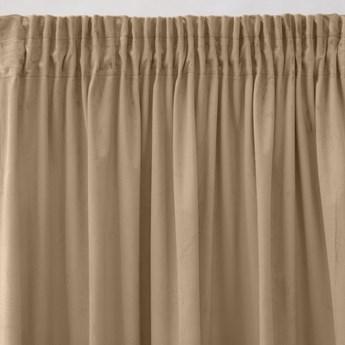Pierre Cardin zasłona welwetowa 140x270cm - Cappuccino - Taśma